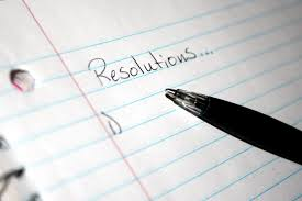 Happy New Year 2014! – Resolutions Part 1